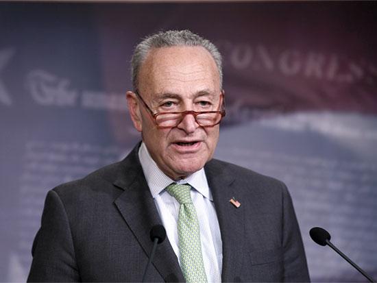 הסנטור הדמוקרטי, צ'אק שומר / צילום: Susan Walsh, Associated Press