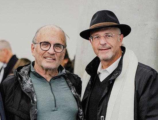 """עו""""ד גדעון פישר וקובי ריכטר / צילום: שיר חסין"""