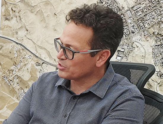 ראש עיריית ערד, ניסן בן חמו / צילום: גיא ליברמן, גלובס