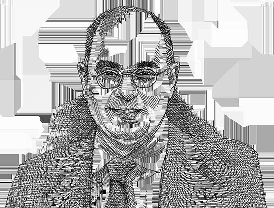 """המומחה ד""""ר ג'ורג' פאדילה / איור: גיל ג'יבלי, גלובס"""