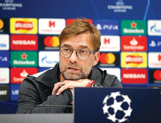 יורגן קלופ, מאמן ליברפול / צילום: רויטרס