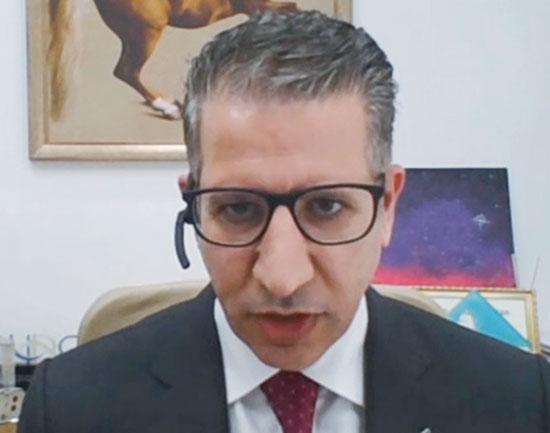 """ד""""ר עומאר נג'ים / צילום: צילום מסך"""