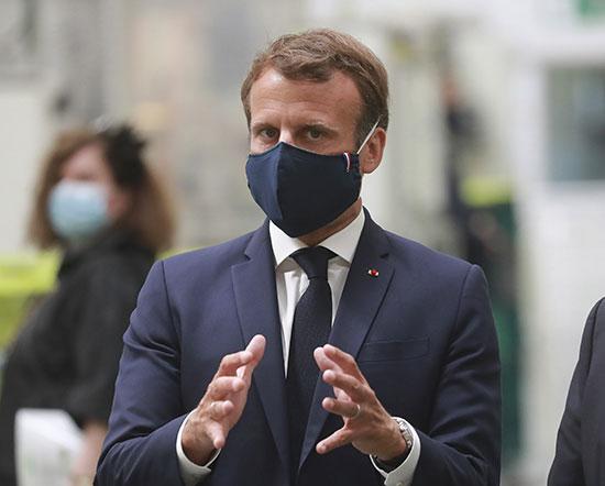 עמנואל מקרון / צילום: Associated Press