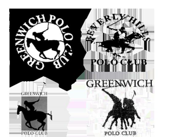 דמותם של שחקני משחק הפולו הרוכבים על סוסים בלוגואים השונים / צילום: צילום מסך