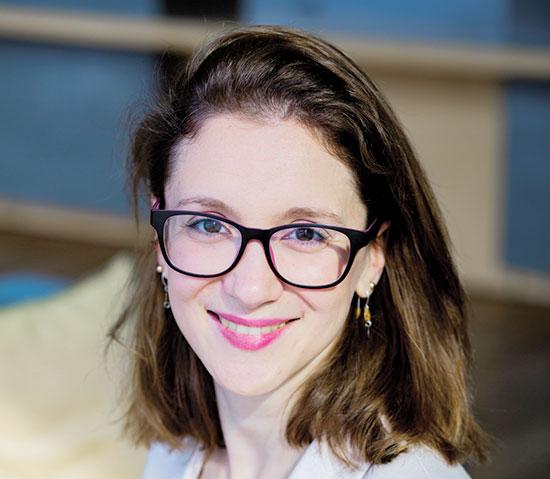 """אירה בלכמן מ""""פרוטה"""", מיזם לחינוך פיננסי / צילום: שיר שטיין"""