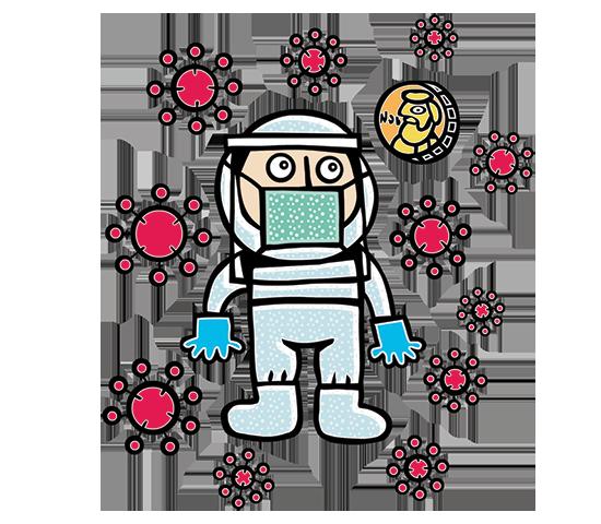 פרס נובל לחלל / איור: תמיר שפר