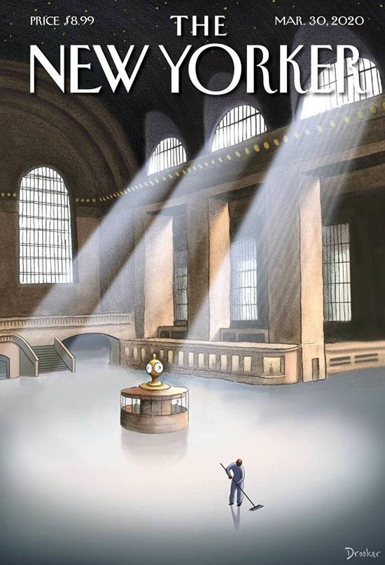 """שער עיתון ה""""ניו יורקר"""" / צילום: צילום מסך"""