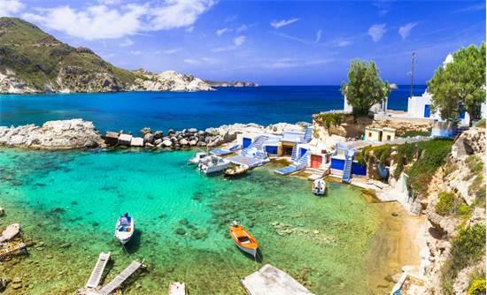 כפר הדיגיים מנדראקיאה באי היווני מילוס / צילום: שאטרסטוק