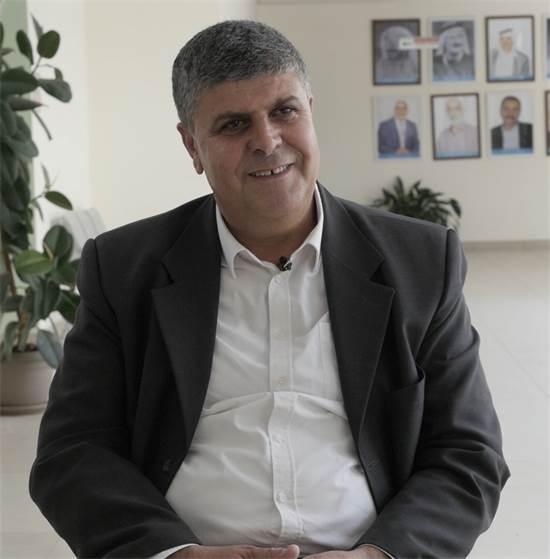 """ד""""ר סמיר מחמיד, ראש עיריית אום אל פאחם / צילום: מתן פורטנוי, גלובס"""