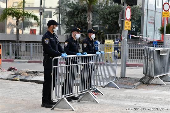 כוחות משטרה בבני ברק / צילום: דוברות המשטרה