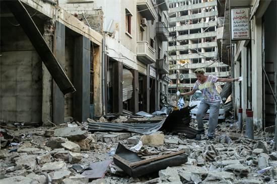 מימדי ההרס מתגלים / צילום: רויטרס