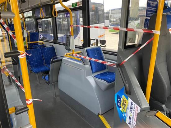בתחבורה הציבורית נערכים להתפשטות הקורונה / צילום: תמונה פרטית