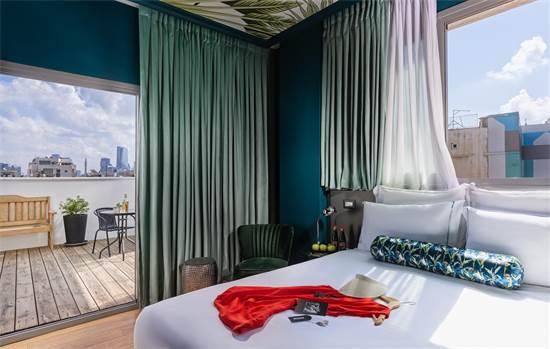 """מלון BROWN SEASIDE / צילום: מקס קובלסקי, יח""""צ"""