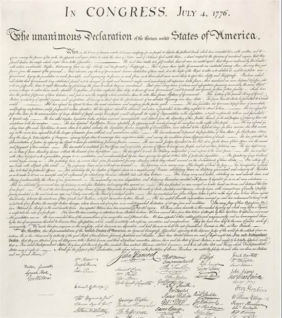 הכרזת העצמאות האמריקאית