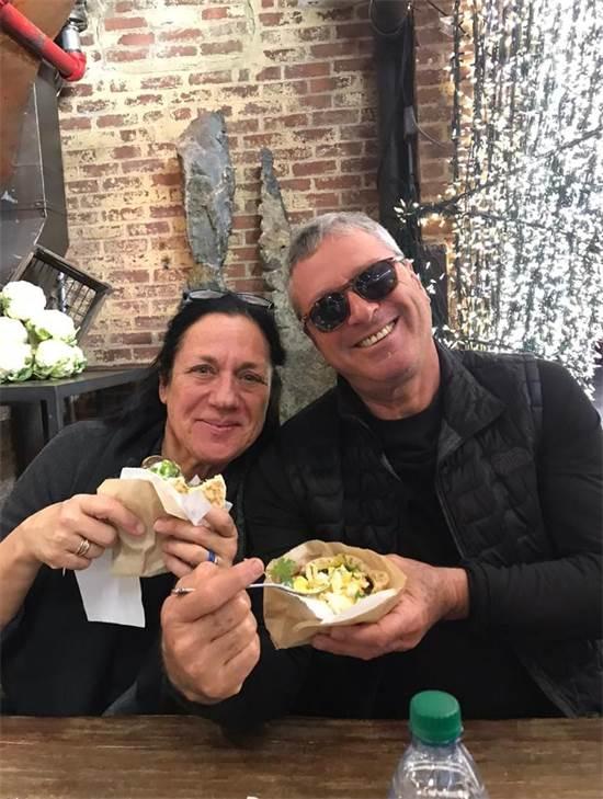 טובה ונבות בניו יורק, רגע לפני הקורונה - פברואר 2020 / צילום: תמונה פרטית