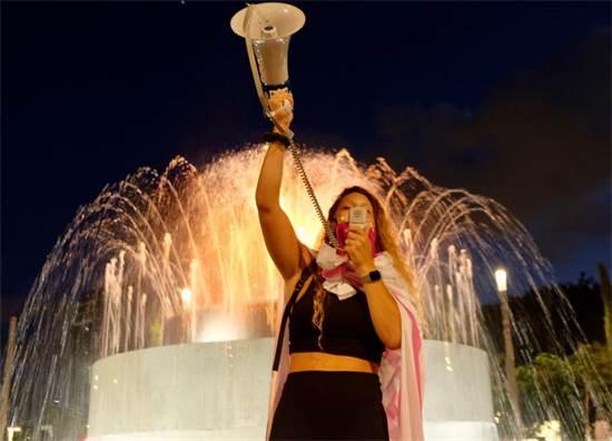הפגנה נגד נתניהו בכיכר דיזינגוף, תל אביב / צילום: שני אשכנזי, גלובס