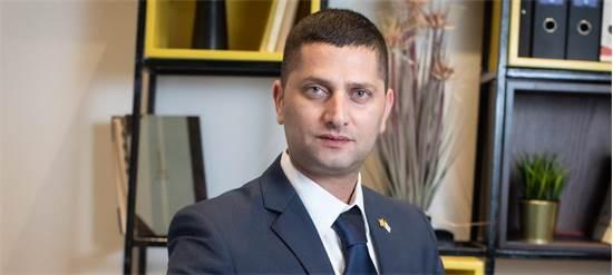 """רועי לוי, ראש עיריית נשר / צילום: עיריית נשר, יח""""צ"""