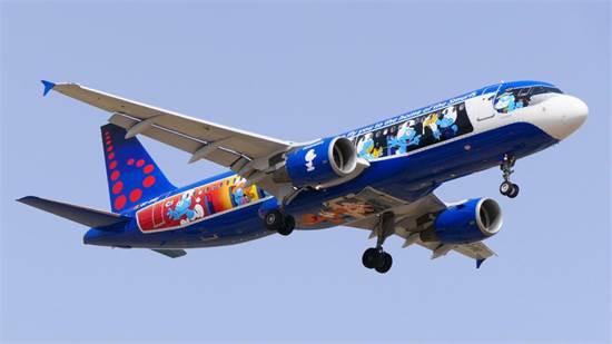 מטוס הדרדסים של חברת התעופה בראסלס / צילום: יואב יערי