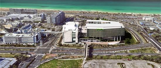 כך יראה המבנה החדש של אינטל בחיפה / הדמיה: אלדר מושלי אדריכלים