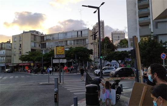 הפגנה נגד נתניהו ברמת גן / צילום: תמונה פרטית