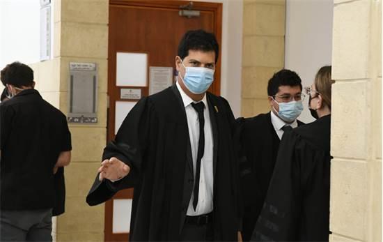 """עו""""ד עמית חדד בבית המשפט / צילום: רפי קוץ, גלובס"""