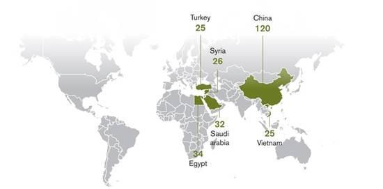 המדינות המובילות במאסר עיתונאים ב-2019, לפי עיתונאים ללא גבולות / צילום: צילום מסך, גלובס