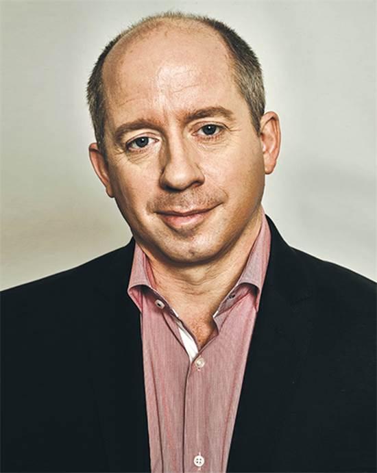 """דנקן קלארק, כותב הביוגרפיה של ג'ק מא צילום: יח""""צ"""