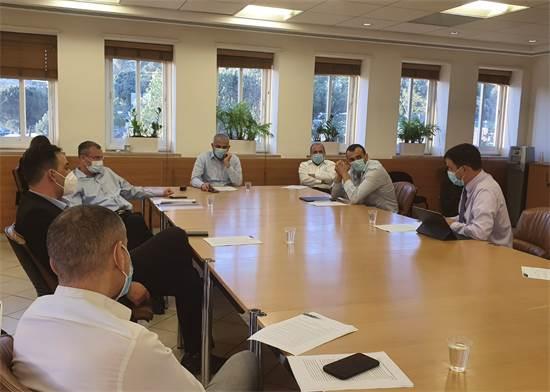 ישיבת האוצר בנושא הסיוע לאל על / צילום: משרד האוצר