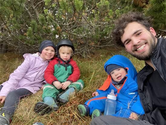 איתי והילדים פרוסטי, ברליוז ומרי לו  / צילום: תמונה פרטית