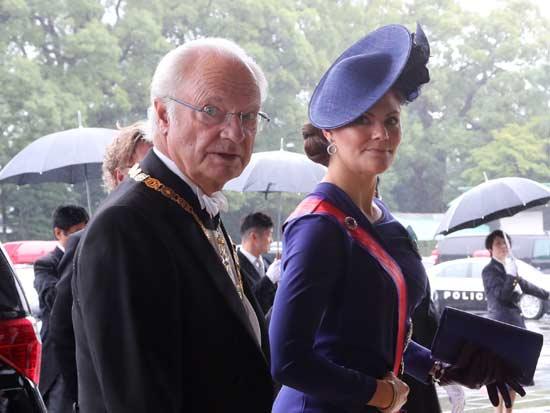 המלך קרל גוסטב / צילום: GettyImages