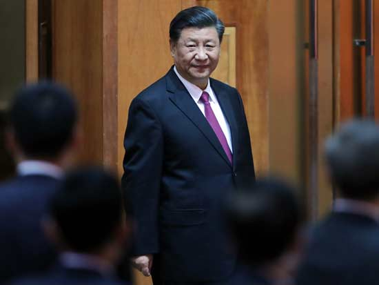 נשיא סין שי ג'ינפינג / צילום: רויטרס - Koki Kataoka