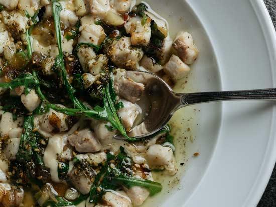 קוביות דג בן גוריון - של מסעדת פסקדו / צילום: גל זהבי