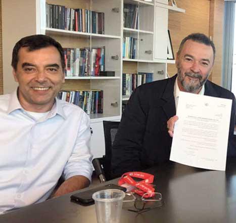 יזמי הבנק החדש מקבלים רישיון./  צילום: דוברות בנק ישראל