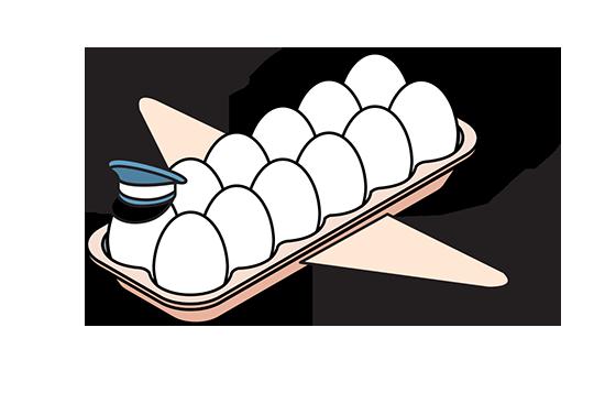 המחסור בביצים / איור: איל אונגר, גלובס
