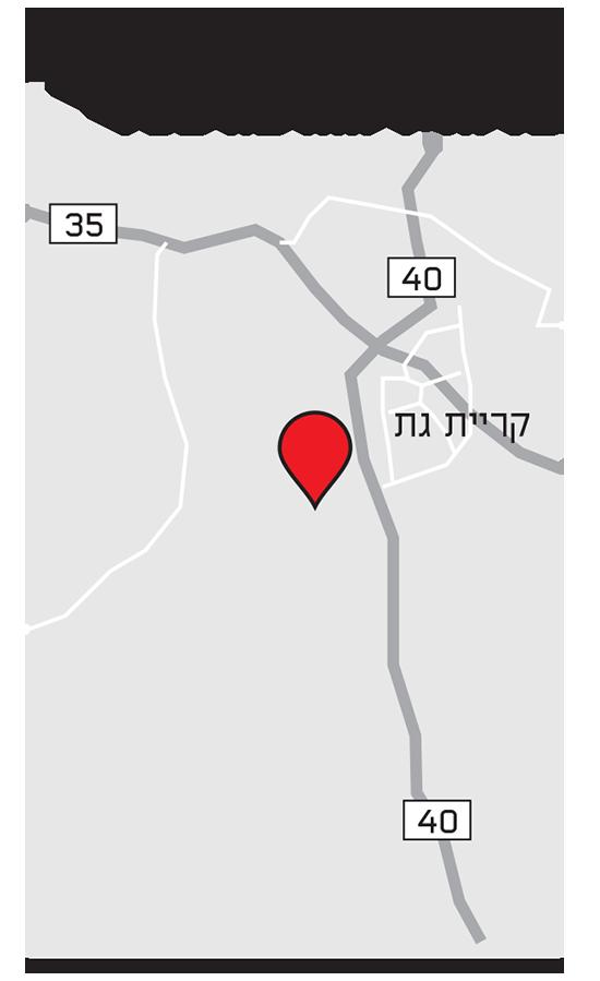 המיקום המתוכנן של העיר העתידית שפיר
