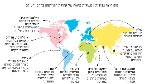 פעולות מחאה של קהילת הקיי־פופ ברחבי העולם