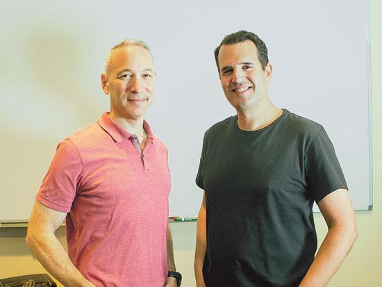 שי וינינגר ודניאל שרייבר, מייסדי למונייד צילום: שלומי יוסף