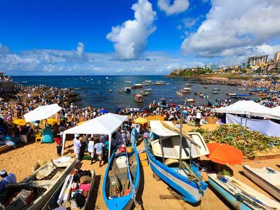 חגיגות ימנז'ה בחוף ריו וורמולו / צילום: Shutterstock/א.ס.א.פ קרייטיב