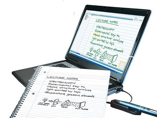 עט מקליט: SmartPen של Livescribe