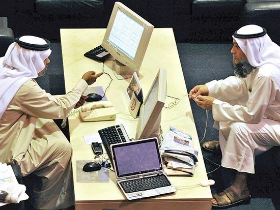 הבורסה בדובאי / צלם בלומברג