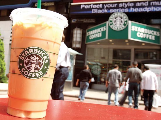 סטארבקס קפה / צלם רויטרס