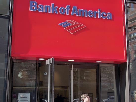 סניף בנק אוף אמריקה / צלם בלומברג
