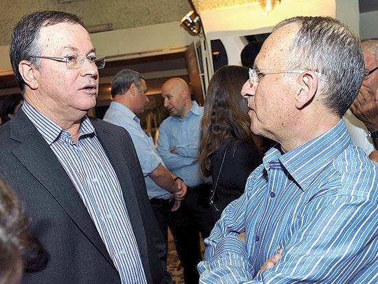 יעקב גלברד ודודי ויסמן / צלם ישראל הדרי
