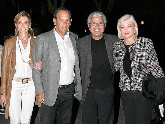 פנינה ומשה אדרי עם שמואל וענת פרנקל / צלם רוני שיצר