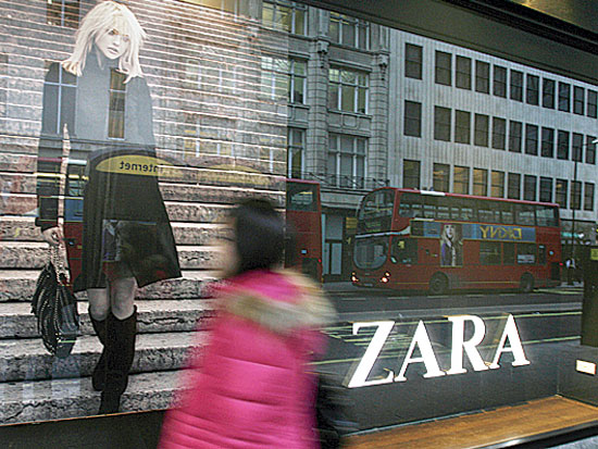 פרסומת של זארה / צלם רויטרס