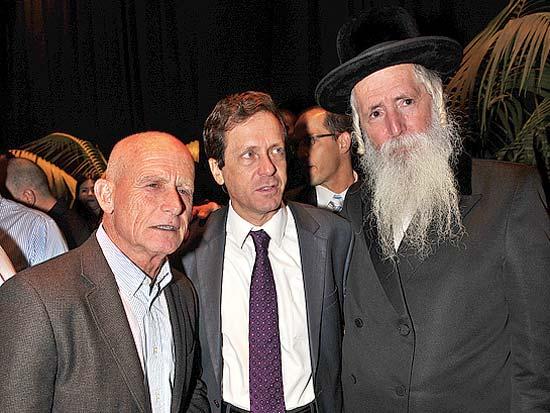 הרב יצחק דוד גרוסמן, יצחק הרצוג, עמי איילון, ערב ההתרמה השנתי של אגודת ידידי אקי