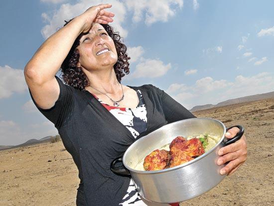 לאה גרינברג, המבשלות של ירוחם / צלם תמר מצפי