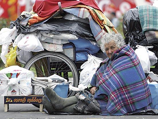 איטליה, עוני / צלם רויטרס