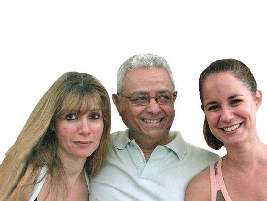 גבריאלה לואיס, בצלאל אלוני, קרן פלס / צלם יחצ