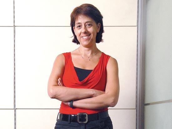 תמר יסעור, מנהלת השיווק של בנק לאומי / צלם איל יצהר